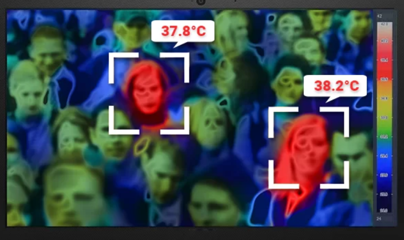 Тепловизор в толпе